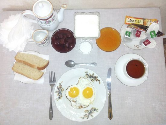 Grigoryevka, Kirgisistan: Вот такой завтрак
