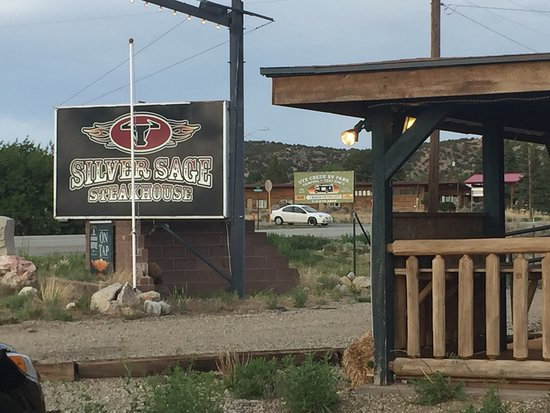 Fort Garland, CO: Sign out front