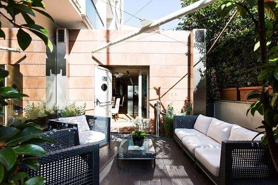 Hilton garden inn rome claridge 142 1 6 3 updated for Garden designer milano
