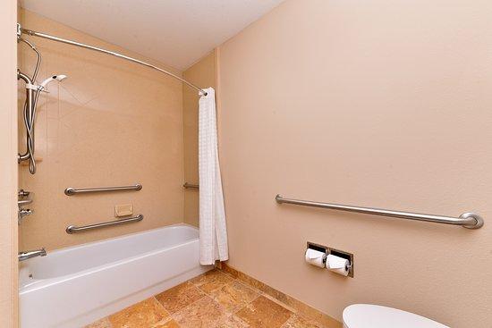 Best Western Plus Daphne Inn & Suites: Mobility Accessible Bathroom