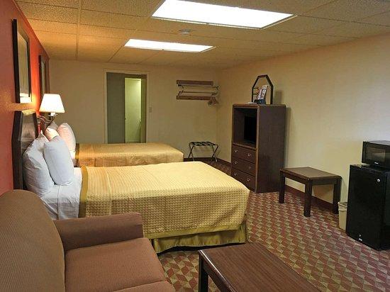 Prescott, AR: Two Double Beds