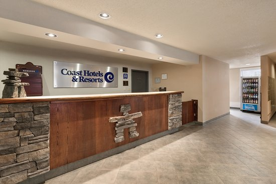 Coast Fraser Tower Yellowknife Front Desk Lobby