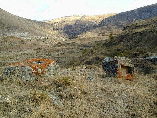 Мартирос, Армения: Дорога к пещерной церкви
