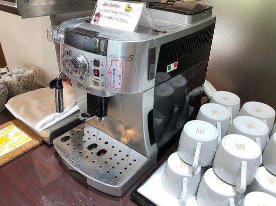 Hotel & RentaCar660: 難得一見意大利製咖啡機,現在這個牌子已是中國製造了