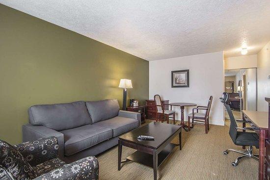 Econo Lodge Inn & Suites: One-bedroom suite