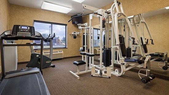 بست ويسترن بين - أوهيو إن آند سويتس: Fitness Center
