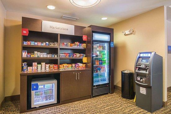 Comfort Suites Grayslake Libertyville North Hotel Vending Area
