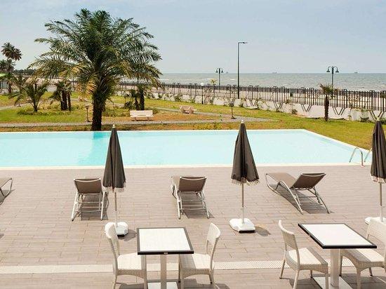 Bata, Equatorial Guinea: Pool View