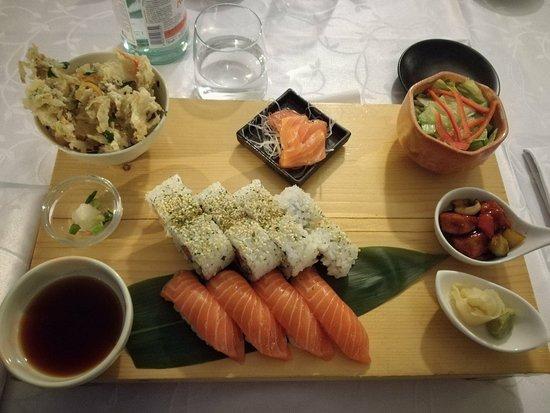 Tokyo Japanese Restaurant: Salmon Japanese Plate