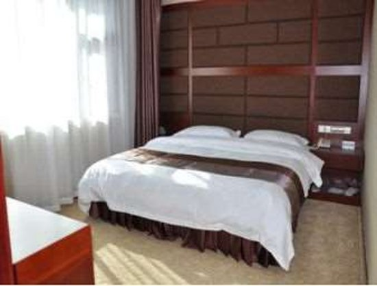 Hezuo, China: One Bed Guest Room