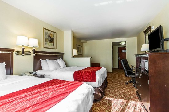 Comfort Suites Vacaville: Queen suite