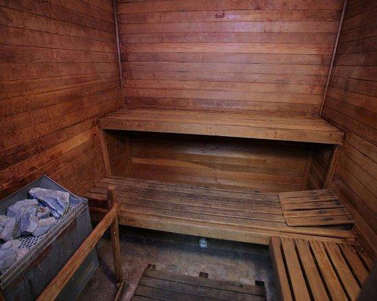 كواليتي إن كونفرنس سنتر: Hotel sauna
