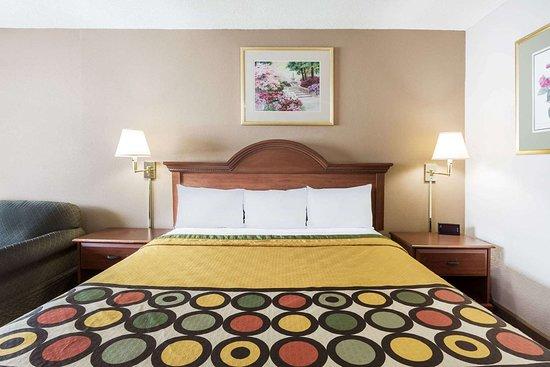Super 8 by Wyndham Greensboro: Guest room