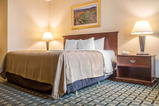 Quality Inn & Suites Palm Island Indoor Waterpark: Well-equipped suite