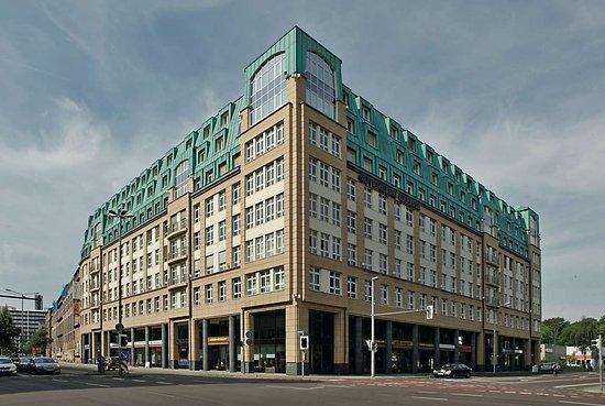 H+ Hotel Leipzig: Exterior