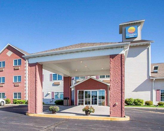 Story City, IA: Hotel entrance