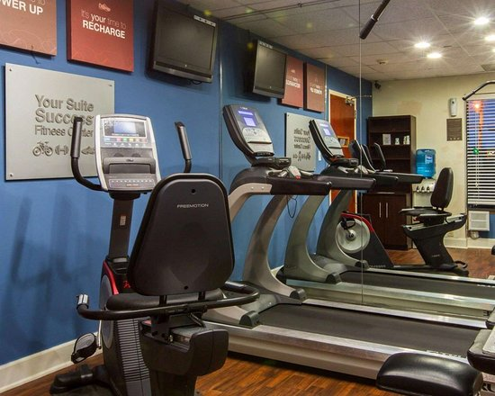 Comfort Suites : Fitness center