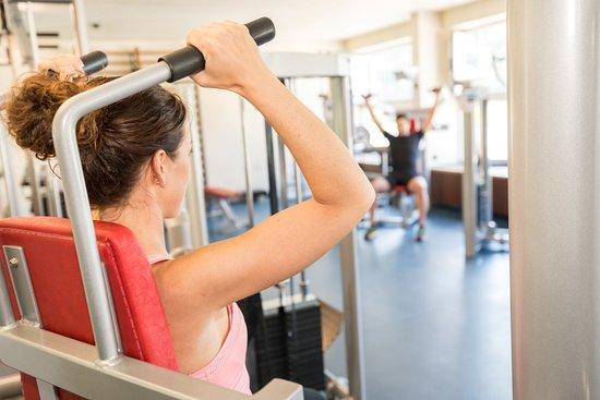 Nafels, Switzerland: Fitnessraum