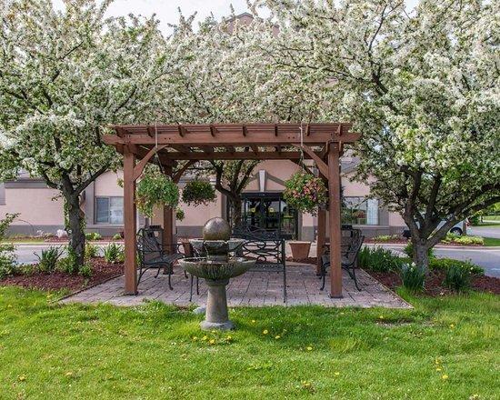 Sleep Inn & Suites: Beautiful garden area