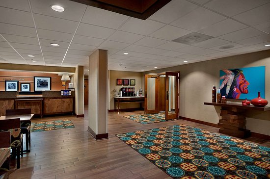 Hampton Inn Cherokee: Reception