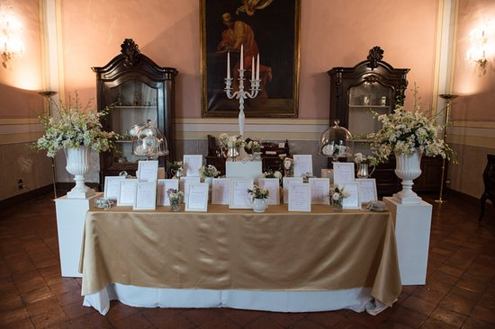 Castel San Giorgio, Italie : Tableau de mariage