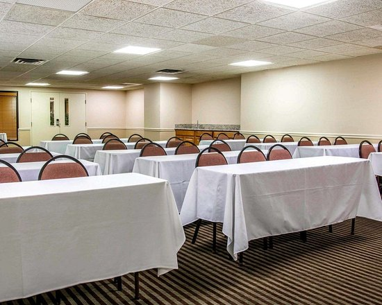 Comfort Inn Livonia: Meeting room with classroom-style setup
