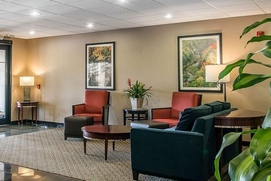 Comfort Suites Wixom: Hotel lobby