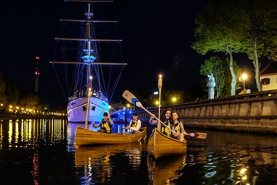 Klaipeda, Lithuania: Night Watch canoeing tour