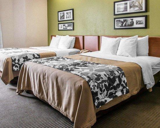 Milan, MI: Guest room with queen beds