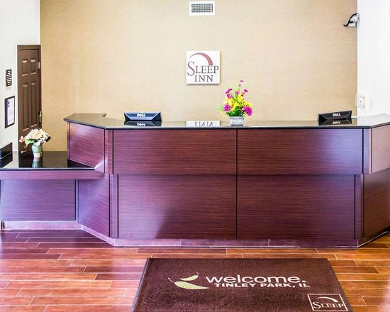 Sleep Inn Tinley Park: Front desk