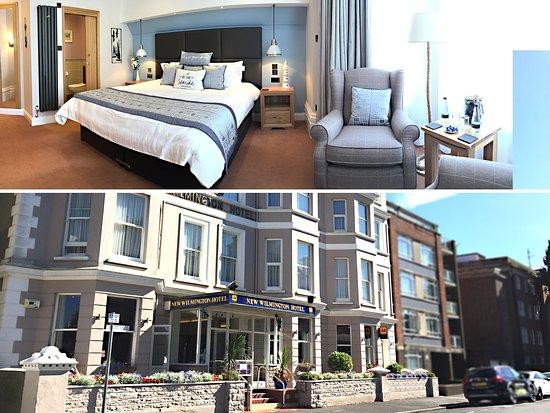 New Wilmington Hotel: Frontage & Luxury Bedroom