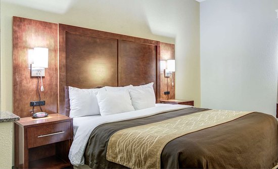 Bogart, GA: Guest room with king bed