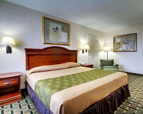 Econo Lodge: Guest room with king bed