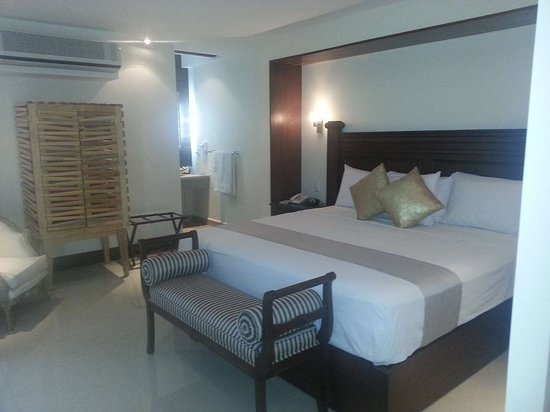 Iguala, Mexico: Standard room with double bed