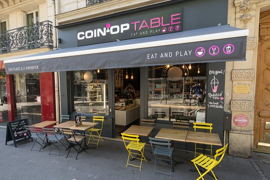 The Place To Go To Review Of Coin Op Table Paris