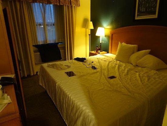 Matig hotel op 20 minuten van Times Square