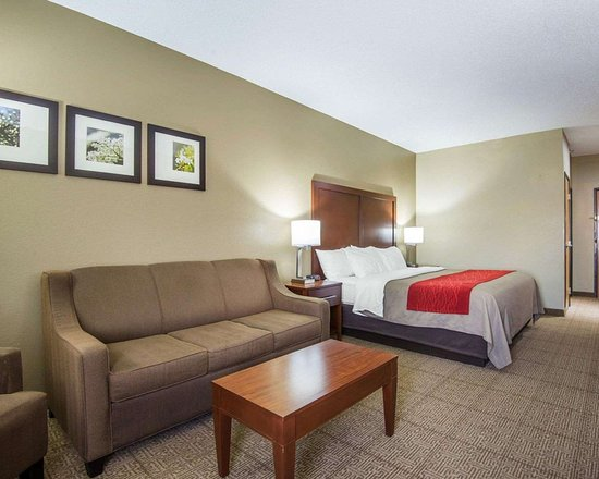 Comfort Inn: Spacious suite with sofa sleeper
