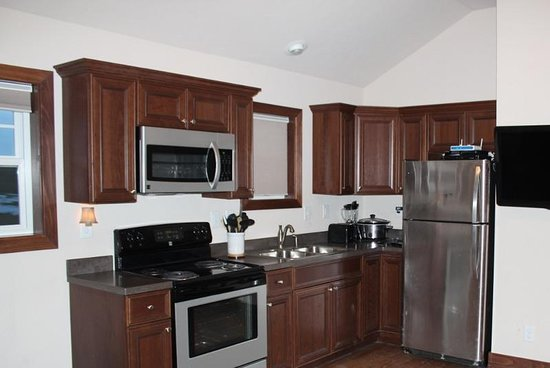 Watford City, ND: In Room Kitchen at Bakken Residence Suites