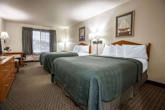 Quality Inn Suites Federal Way Guest Room With Queen Beds