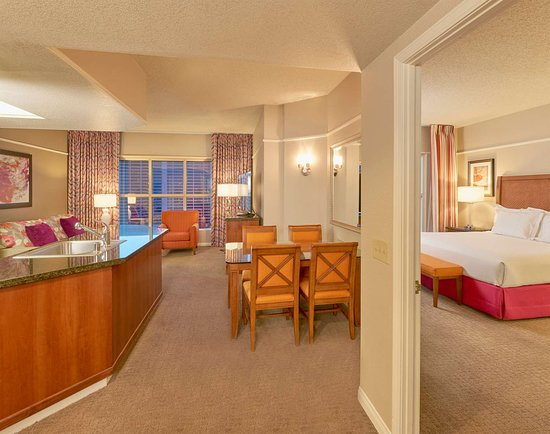 Hilton Grand Vacations At The Flamingo Timeshare Nice Location Simple Elara Two Bedroom Suite Minimalist Remodelling