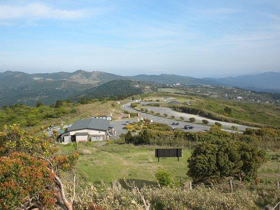 Susono, Japão: 駐車場と芦ノ湖スカイライン