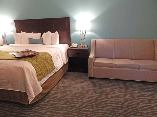 Burkburnett, TX: King Room with Sofa bed