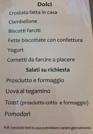 Rosciano, Italy: B & B Oasi - La colazione