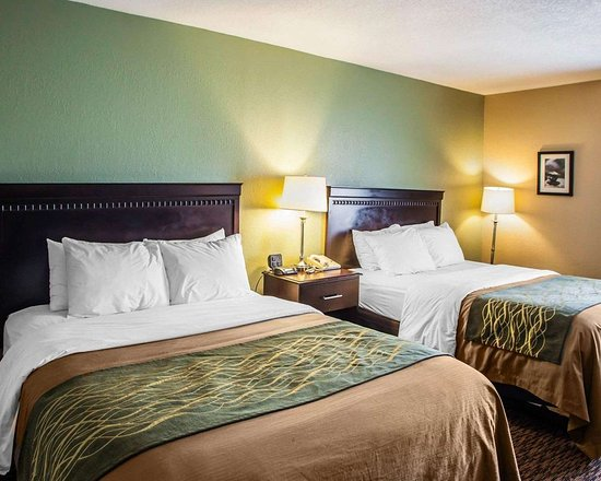 Quality Inn: Guest room with queen beds