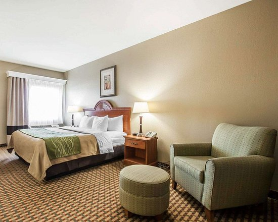 Willow Springs, MO: Guest room with king bed
