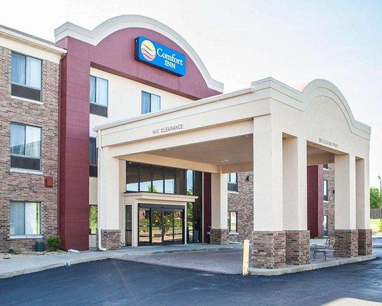 Comfort Inn Lee's Summit @ Hwy 50 & Hwy 291: Hotel exterior