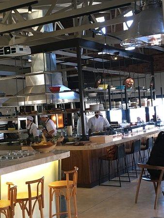 Open kitchen - Picture of Van Der Linde Restaurant, Johannesburg ...