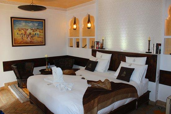 Riad Charme d'Orient : Our Room 'Amira Fati'