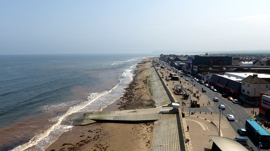 Redcar Beach: Looking Down the Beach