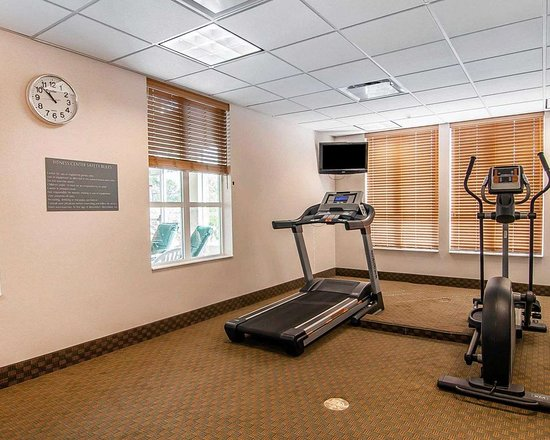 Creswell, OR: Fitness center with television